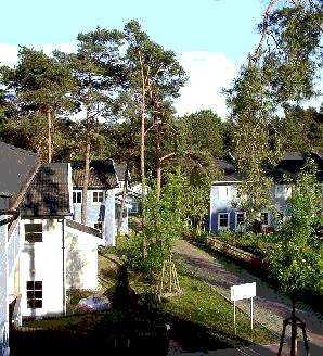 Ferienhäuser am Schlonsee in Bansin auf Usedom, www.Fewo-Usedom.cc