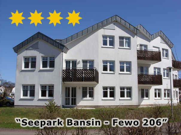 3 Zimmer Ferienwohnung im Seepark Bansin, 4-Sterne-Ausstattung, www.Fewo-Usedom.cc