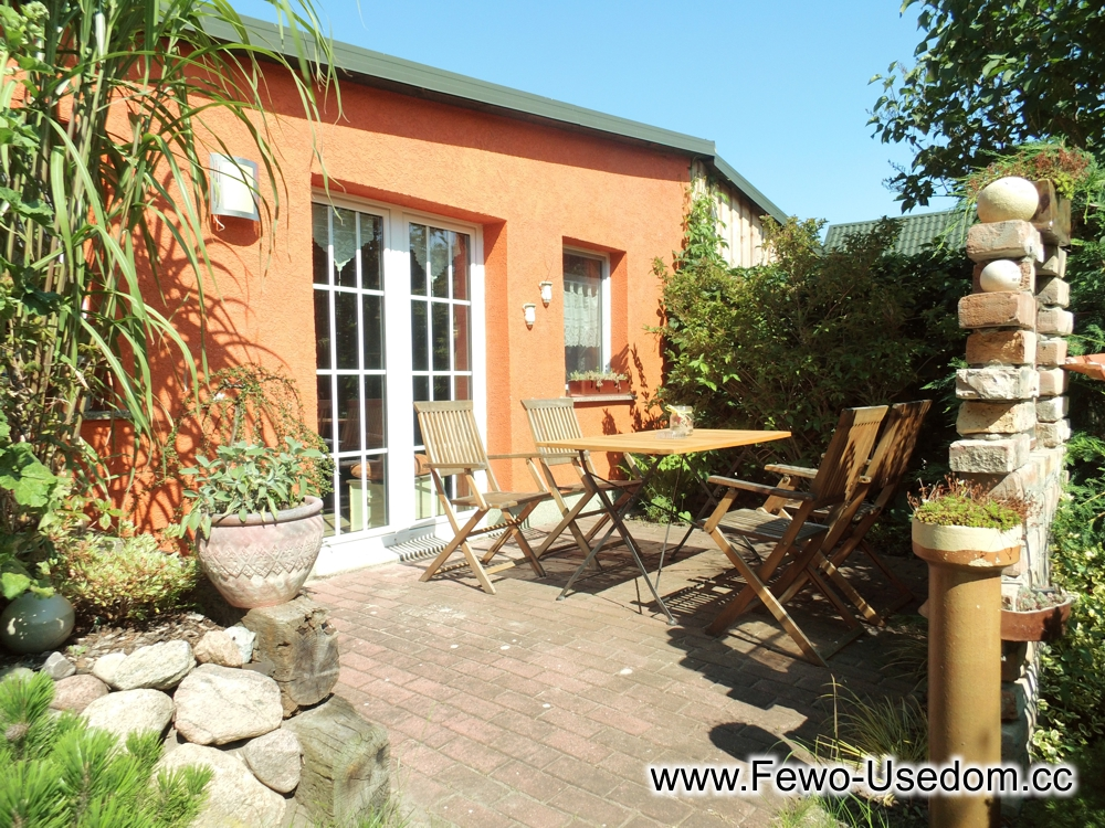 Ferienhäuser in Kölpinsee strandnah, 3-Zimmer-Bungalow in Loddin auf Usedom, www.fewo-usedom.cc