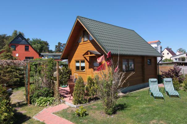 Kölpinsee Ferienhaus Holzhaus Urlaub Loddin Kölpinsee