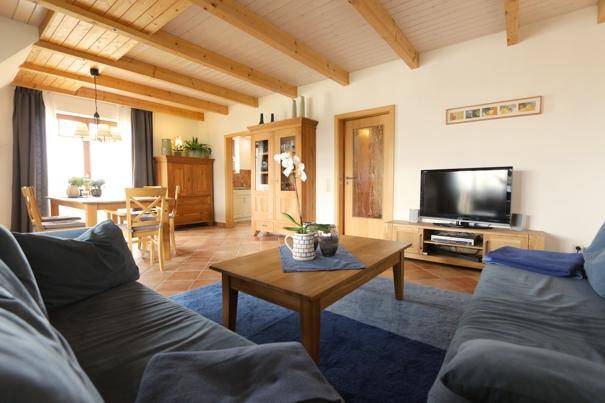 Ferienwohnung im reetdachhaus auf Usedom inklusive Infrarotwärmekabine