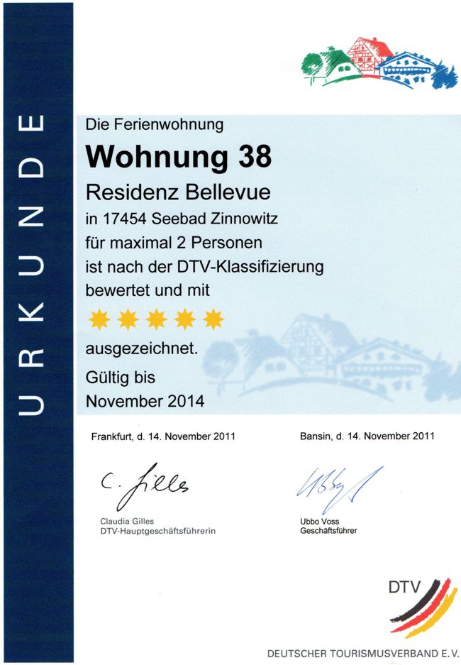 Residenz Bellevue 5-Sterne-Ferienwohnungen, Ferienwohnungsvermittlung Herrmann, www.fewo.cc