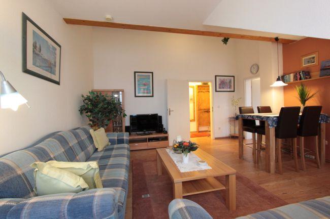 5 Sterne Penthouse Ferienwohnung in der Residenz Bellevue