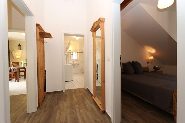 Residenz Bellevue, exklusive Ferienwohnung mit 2 Dachterrassen, mit DSL und Telefon kostenfrei