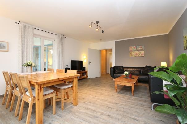 3 Zimmer Ferienwohnung Herrmann in Zinnowitz auf Usedom, 3 Zimmer Ferienwohnungen mit DSL und Telefon