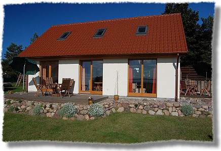 Ferienhaus mit Achterwasserblick in Loddin