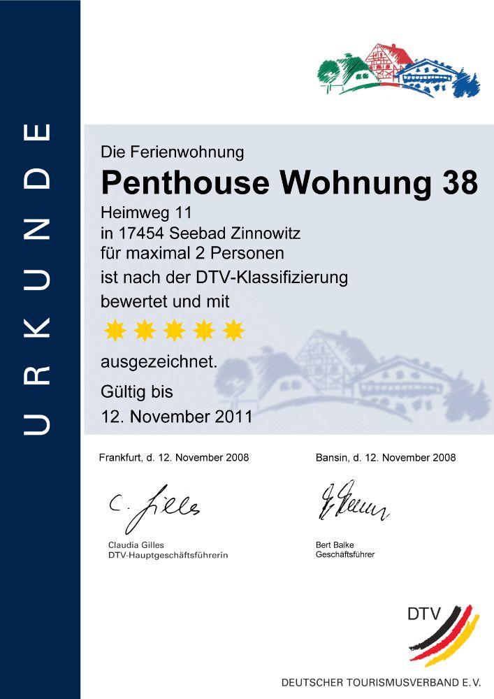 Ferienhaus 5 Sterne Zinnowitz, Residenz Belleveue, Heimweg 7-14