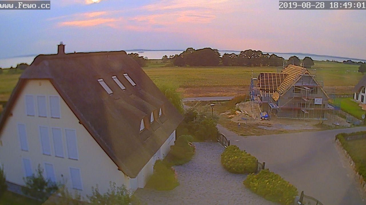 Blick auf den Ferienhaus Herrmann in Loddin